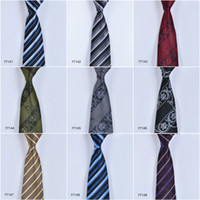 Wholesale Tie Styles For Men - New Arrival In stock Ties for Men 100% Silk Necktie Fashion Accessories Formal Men Tie Mix Style Free Shipping 77141-77150