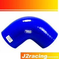 "Wholesale Elbow Silicone Hose - J2 RACING STORE-BLUE 3"" 76mm 90 Degree Elbow Silicone Hose Pipe Turbo Intake PQY-SH9030"