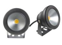 Wholesale Black Pool Lights - 1pcs black color Case 10W Underwater LED Flood Wash Pool Waterproof Light Spot Lamp 12V Outdoor
