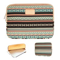 Wholesale Neoprene Sleeve For Laptop - S5Q Bohemian Laptop Cases Vintage Tribal Bags Cover Case For 10' 11' 12' 13' 14' 15' Laptop AAADZO