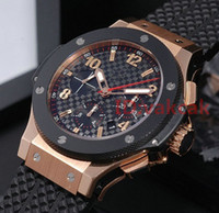 Wholesale Mens Watches Big Bang - A2813 AAA New silver Mens F1 Luxury Brand Automatic movement Watch Big Bang men Mechanical Watches Fashion Sports Wristwatch