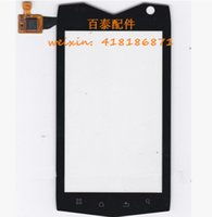 "Wholesale Mann Zug3 - Wholesale-100% New Original 4"" Mann ZUG3 Touch Screen Digitizer Glass Fit for Mann zug 3 A18 both QUAD and DUAL Core ip68 Panel Sensor"