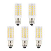 Wholesale Led Candelabra Bulbs 5w - 5W T3 E12 Candelabra Base LED Bulbs,40 Watt Incandescent Bulb Replacement,120 Volts 400Lm Natural Daylight White 6000K LED Light bulbs For U