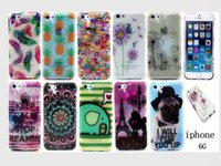 Wholesale Iphone Case Bling Mix - Bling Glitter TPU Flower Tribal case for iphone 6 5G 5C Elephant Fruit Soft Gel Cover mix order