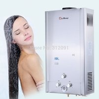 Wholesale Tankless Lpg Gas Hot Water - 18L New LPG GAS TANKLESS INSTANT HOT WATER HEATER STAINLESS Propane 18L A3