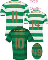 572bdb436 Soccer Men Short 2017 2018 Celtic FC Home Away TOP Quality Soccer Jersey 17  18 Celtic