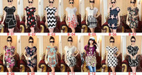 Wholesale Drop Ship Boho Dress - Lady Women Summer Casual dresses Boho Floral Ice Silk Loose Shirt Blouse Tops Mini Dress beach clothing apparel drop shipping