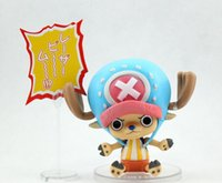 Wholesale Chopper Pvc Tony - high quality one piece action figure anime tony tony chopper collection model toy figures kids gifts free shipping 83