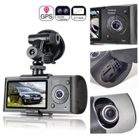 Car Dvr HD Vihecle espia DVR Câmera digital dupla de 2.7