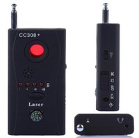 Wholesale Wireless Camera Finders - CC308+ Anti-Spy Camera Detector Multi-Detector Wireline Wireless Signal GSM BUG Listening Device Full-Frequency Full-Range All-Round Finder