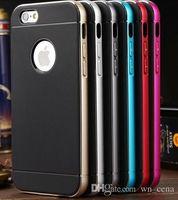 Wholesale Sgp Hybrid Metal Blue - Neo Hybrid SGP case for iphone 6s case iphone 6s plus case bumper case Protect shell hight quality bumper Metal case hot seller