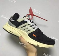 Wholesale Air 38 - Top Quality Off White Air Presto OW Mens Casual Shoes for Women 10X Limited Release Virgil Abloh Brand Sneaker Size 38-46