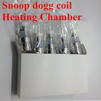 Wholesale Dry Herb Chamber Atomizer - SNOOP DOGG Heating Chamber dry herb vaporizer pen Atomizer atomization core Replacement SNOOP DOGG Atomizer Snoop dogg coil