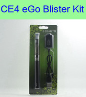 Wholesale Ego Ce4 Blister Start Kit - eGo Starter Kit CE4 Blister pack kit 1.6ml atomizer 650mah 900mah 1100mah ego battery electronic cigarettes start green kit