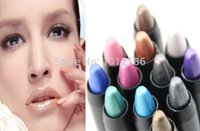 Wholesale Max Dona - Wholesale-CPA 12 pcs MAX Dona Eye Pencil Eyeshadow Pen Glam Shadow Stick 12 Colors Optional