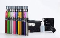 Wholesale Ce4 Cigarett - .Electronic E Cigarette Ego Ce4 Vaporizer Vape Pen Starter Kit E-cig Smoking Single Zipper Case CE4 Atomizer Clearomizer Cigarett DHL Free