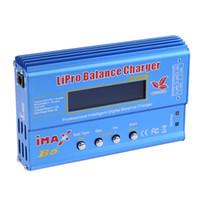 Wholesale imax b6 balance - New Arrival High Quality 80w iMAX B6 Lipro NiMh Li-ion Ni-Cd RC Battery Balance Digital Charger Discharger Free Shipping
