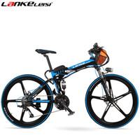 Wholesale Mountain Bicycle Double Suspension - TX660 36V 15Ah 26'' Electric Bicycle 27 Speed,Double Suspension, Magnesium Alloy Rim,Mountain Bike,Folding E Bike