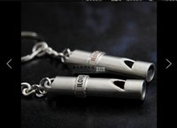 Wholesale I LOVE YOU Love Shiny Whistle Keychain Valentines Fine Texture Car Key Chain Ring pair