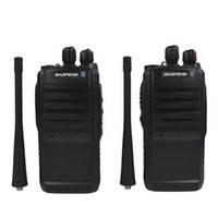 Wholesale Walkie Talkie Bao Feng - Wholesale-Free Shipping Radio Communication Device Black Bao Feng BF-388A Two-way Radio UHF 400-470MHz Portable Walkie Talkie Pair