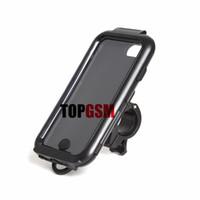 s4 bisikleti toptan satış-IPhone 6 Motosiklet Bisiklet Montaj Tutucu + Su Geçirmez Sert Sabit Dağı Kılıf iphone 5 s Galaxy S3 Galaxy S4 iPhone 6 Artı Ücretsiz Kargo