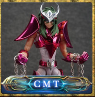 Wholesale Aurora Models - CMT Aurora Model Cs Model Metal Armor Saint Seiya Cloth Myth EX Andromeda Shun Final V3 Action Figure
