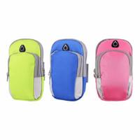 iphone jogging band оптовых-Спорт работает повязку телефон Case для iPhone 7 6 6 S Plus 5S для Samsung S8 S7 S6 Edge Plus Примечание 5 бег пакет сумка для mp3