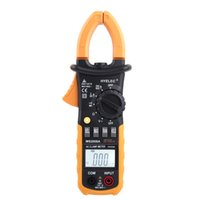 Professionale AC Digital Clamp Meter w / 2F Torna la luce multimetro Fluke Multimetro Morsetti di dispersione HYELEC MS2008A 2000 Conti