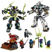 2016 New Ninja Cyberstein Robots Ltd Minifigure Building Blocks Set Model aciton Figures Jay Bricks compatibles éducation Toy bricolage