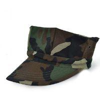 Wholesale Patrol Cap Camo - Wholesale-Woodland Camo Tactical Gear Army Hats USMC Military Patrol Cap Hat