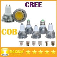 High Power COB 6W 9W 12W führte dimmable Birnen E27 E26 E14 MR16 GU10 LED Lampen Lampe 120 Angle AC 110-240V / 12V