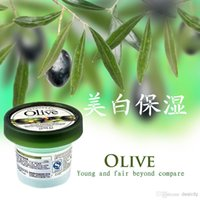 Wholesale Face Firming Products - Authentic Face Mask Olive Firming Facial Mask Sleeping Mask Whitening Moisturizing Night Mask No-clean Night Essence Face Care Product