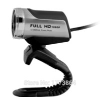 All'ingrosso-Ausdom HD Pro Webcam AW615, 1080p widescreen videochiamate e la registrazione, la macchina fotografica messa a fuoco automatica Network Security per Skype FaceTime