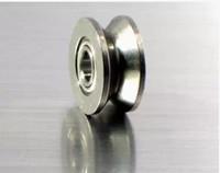 rodamientos rígidos de bolas al por mayor-100 unids / lote V624ZZ V ranura rodamiento de bolas sellado 4x13x6 mm polea rodamientos de rodillos 624VV 4 * 13 * 6