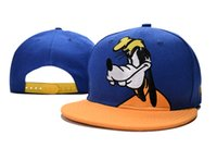 Wholesale Cartoon Basketball Hats Snapback - Brand New goofy Cartoon Snap back Snapback Baseball Sport Basketball Caps Hats For Men and Woman Ball Caps TYMYC 17