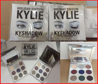 Wholesale More Easy - hot kylie holiday edition kyshado Kylie Eye Shadow Cosmetics Bronze Eyeshadow KyShadow Palette new kylie Eye Shadow free shipping more stock