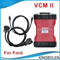 Wholesale Programmer For Ecu - Hot selling 21 Languages Ford VCM II V96 OBDII OBD2 ROTUNDA Ford Mazda Diagnostic scanner Ford VCM IDS 2 Scanner DHL Post Free Shipping