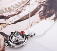 Wholesale Vampire Diaries - The Vampire Diary Valentine's Day Necklace Verbena Unisex Jewelry Wholesale Pendants Rushed Hot Zinc Alloy Slide Top Fashion