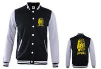Wholesale Mens Varsity Winter Jackets - Fall-Unisex Long Sleeve Leisure Hip Hop Mens Last Kings Winter Baseball Varsity Jacket Sweatshirt Men