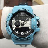 Shock Relógios com Movimento Japonês 1.1 Qualidade Sporting Watch Gym Muscle Mens Best Love Diving Relojes