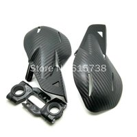 Wholesale Mx Honda - COOL BLACK Carbon Motorcycle Handguards Hand Guards For Honda Yamaha Dirt KTM MX ATV