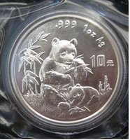 Wholesale panda ornament - HOT SELLING Panda 1996 DOLLAR Coin   FREE SHIPPING