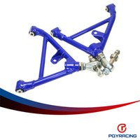 Wholesale S13 Control Arms - PQY STORE-Camber Rear Arm For Nissan Rear Lower Control Arm 300zx 240sx 200sx 180sx SR20 KA24 CA18DE S13 S15 S14 BLUE PQY9845B