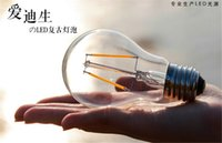 Lastest Filament Led Leuchtmittel A19 Edison Glass Lampe 4W 6W E27 B22 E26 A60 Warm / Cool White Entspricht Led Globe Licht