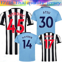 2017 18 Thai Quality new Newcastle United Home men Soccer Jerseys GAYLE  MITROVIC RITCHIE Football Shirt 17 18 Newcastle Away third Jersey ... 95e77b765