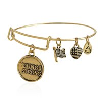 """Wholesale Charity Bracelets - Alex and Ani """"Charity By Design"""" YOUNG AND STRONG Bangle Expandable Bracelet Fast Ship Expandable Wire Bangle Bracelet Jewelry for Women"""