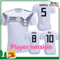 Wholesale Thai Jersey Player Version - Player version 2018 OZIL MULLER GOTZE HUMMELS KROOS BOATENG GeRMAny REUS soccer jerseys thai quality soccer jersey football shirts