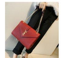 Wholesale Designer Purses Satchel - Luxury Designer Shoulder Bag Famous Brand High Quality Woman Evening purse Chain Bags Woman Tote Handbag Evening 2017 wholesale NEW ARRIVE