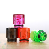 Spiral Drip Tip 810 Helical Spiral Drip Tips for 810 Atomizers TFV8 TFV12 E Cigarette Airflow Mouthpiece Cheapest DHL Free