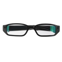 Wholesale Supporting Glasses - 1920*1080 Glasses Camera Support 2-32GB TF Card Mini Spy Hidden Cam Take video 1 hours